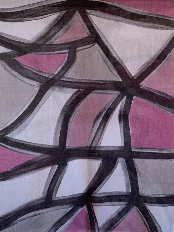 Stola Dipinta a Mano Cashmere/Bambo W2N56