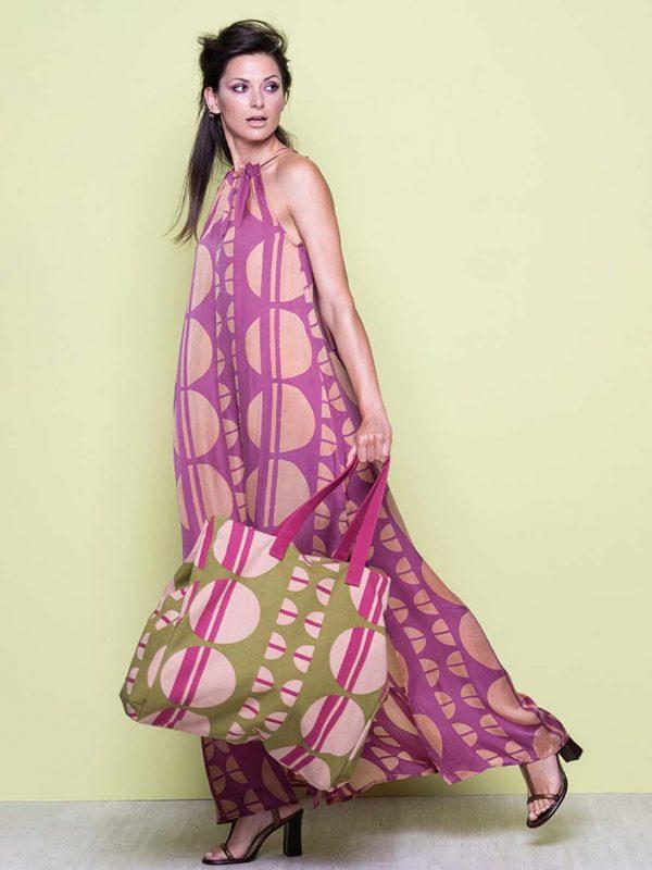 Bubble long dress